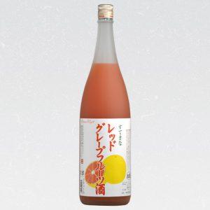 すてきなレッドグレープフルーツ酒