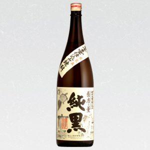 薩摩乃薫 純黒かめつぼ 25度